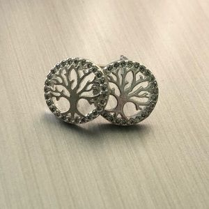 Tree of Life Earrings in Silver OR Rose Gold!
